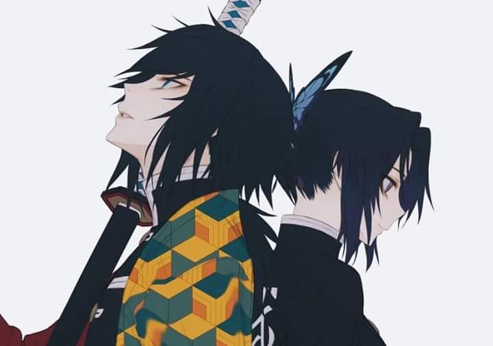 Giyuu and Shinobu