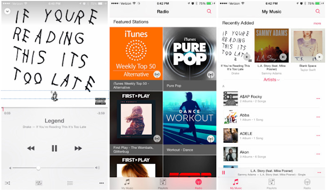 Download iOS 8.4 now! This beta is for musicophiles, i guess!