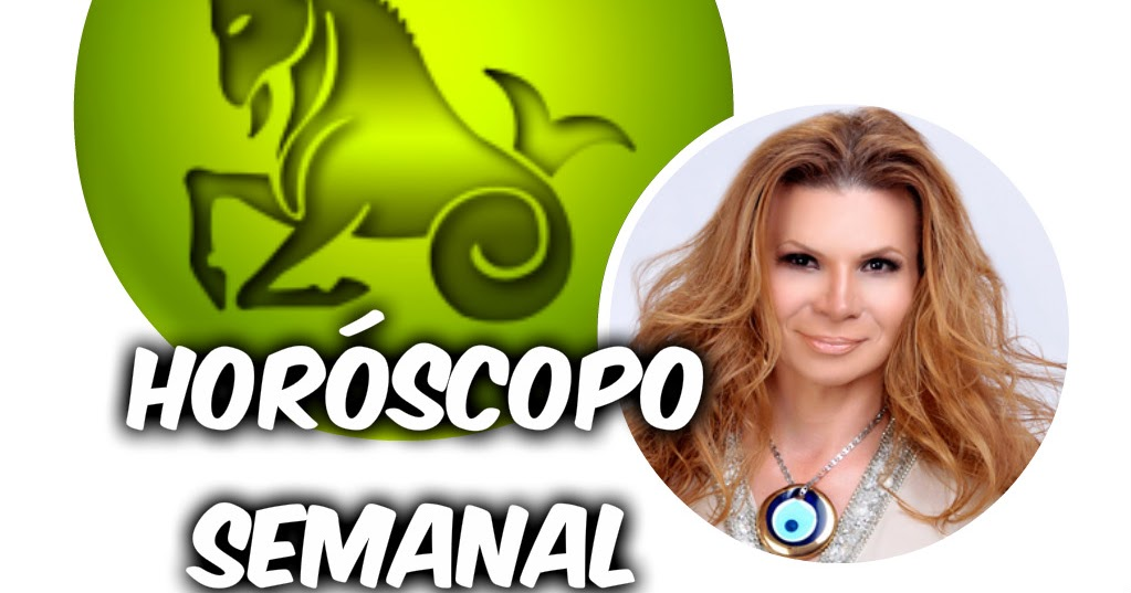 horoscopo capricornio semana: