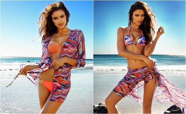 Irina Shayk Beach Bunny Take me to Rio