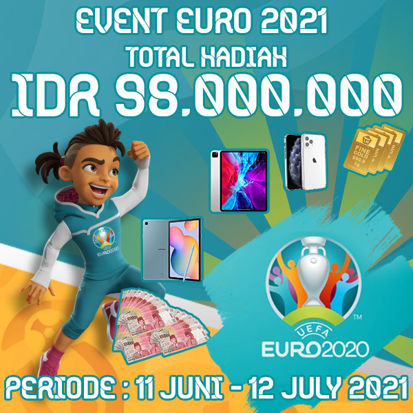 Event Piala Euro 2021 ituVIP