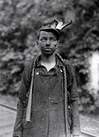 Child Coal Miner (1909), a child labor photograph by Lewis Hine.