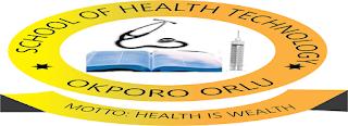 School of Health Tech Okporo Orlu Admission Form 2021/2022
