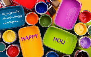 Happy holi different color wallpapers