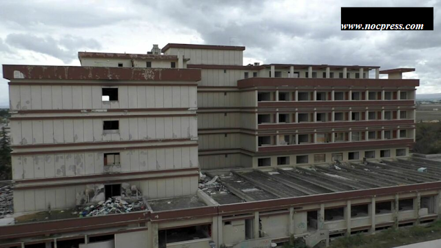 """Foggia: Decreto di Sequestro Preventivo. Le Forze dell'Ordine """"ripuliscono"""" l'area dell'ex Hotel President"""