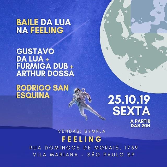 Baile da Lua traz Gustavo da Lua e Rodrigo San para um dos mais badalados bairros da noite paulista