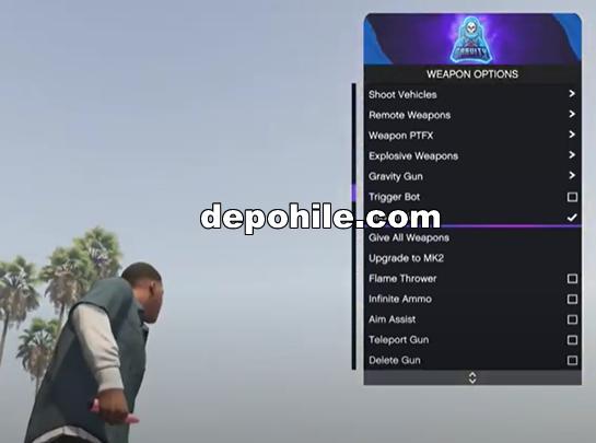 GTA Online 1.53 Gravity Menu Çalışan Hile Hile İndir 2021
