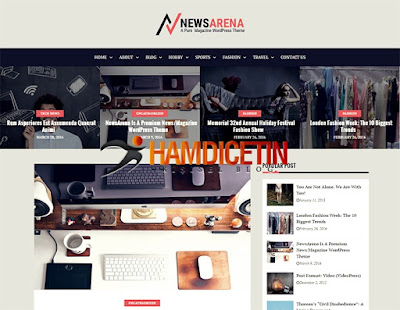 News Area Wordpress Theme