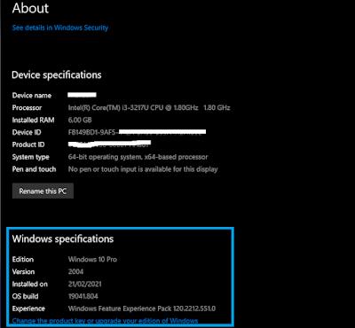 Cara Mengetahui Versi Windows 10 Cek Versi Dan Build Yang Dipakai