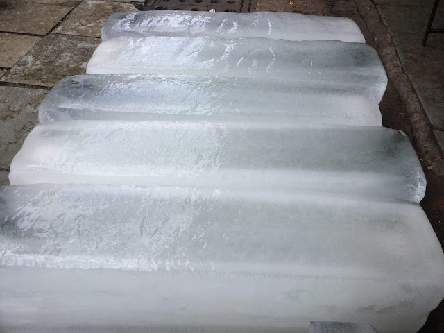 Ice Bars, Slabs, Blocks, Crushed Ice Reselling Business - Ice Slabs