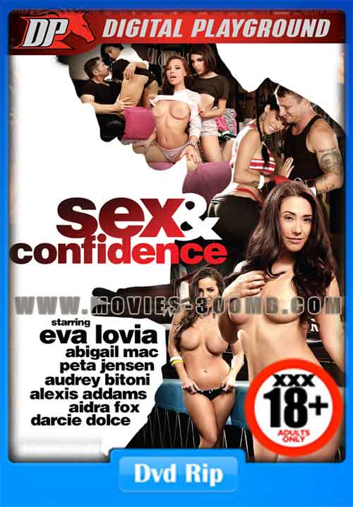 [18+] Sex And Confidence 2016 DVDRip 600MB xXx Poster