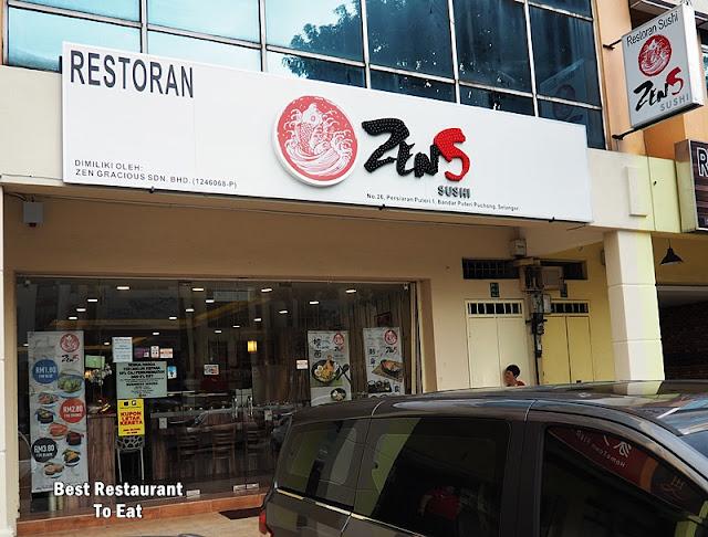 Puchong Food Sushi ZenS Japanese Restaurant