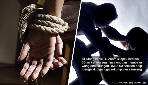Enggan bayar wang perlindungan RM3,000, isteri dan anak diculik, dirogol 5 lelaki Myanmar di Selayang