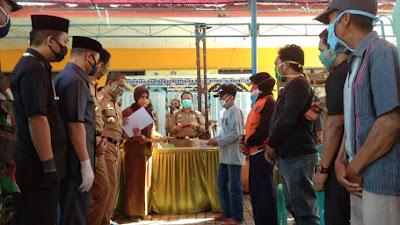 Bantuan Tengah Pandemi, Desa Kalola Pertama di Wajo Cairkan BLT Dana Desa