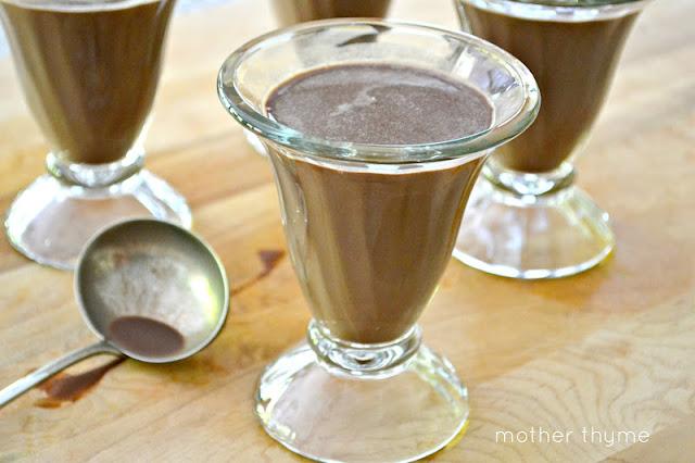 Light Chocolate Panna Cotta