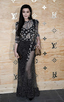 Actress Fan Bing Bing attends the Louis Vuitton's Dinner in Paris