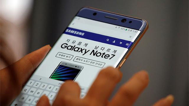 """Samsung suspende la producción de Galaxy Note7 """"explosivo"""""""