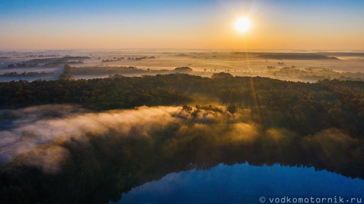 Утро на реке Лава
