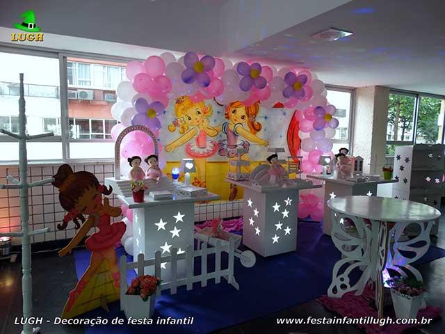 Decoração infantil Bailarinas - decoração de festa