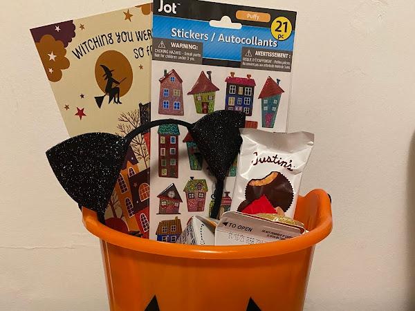 "Halloween ""Boo Basket"""