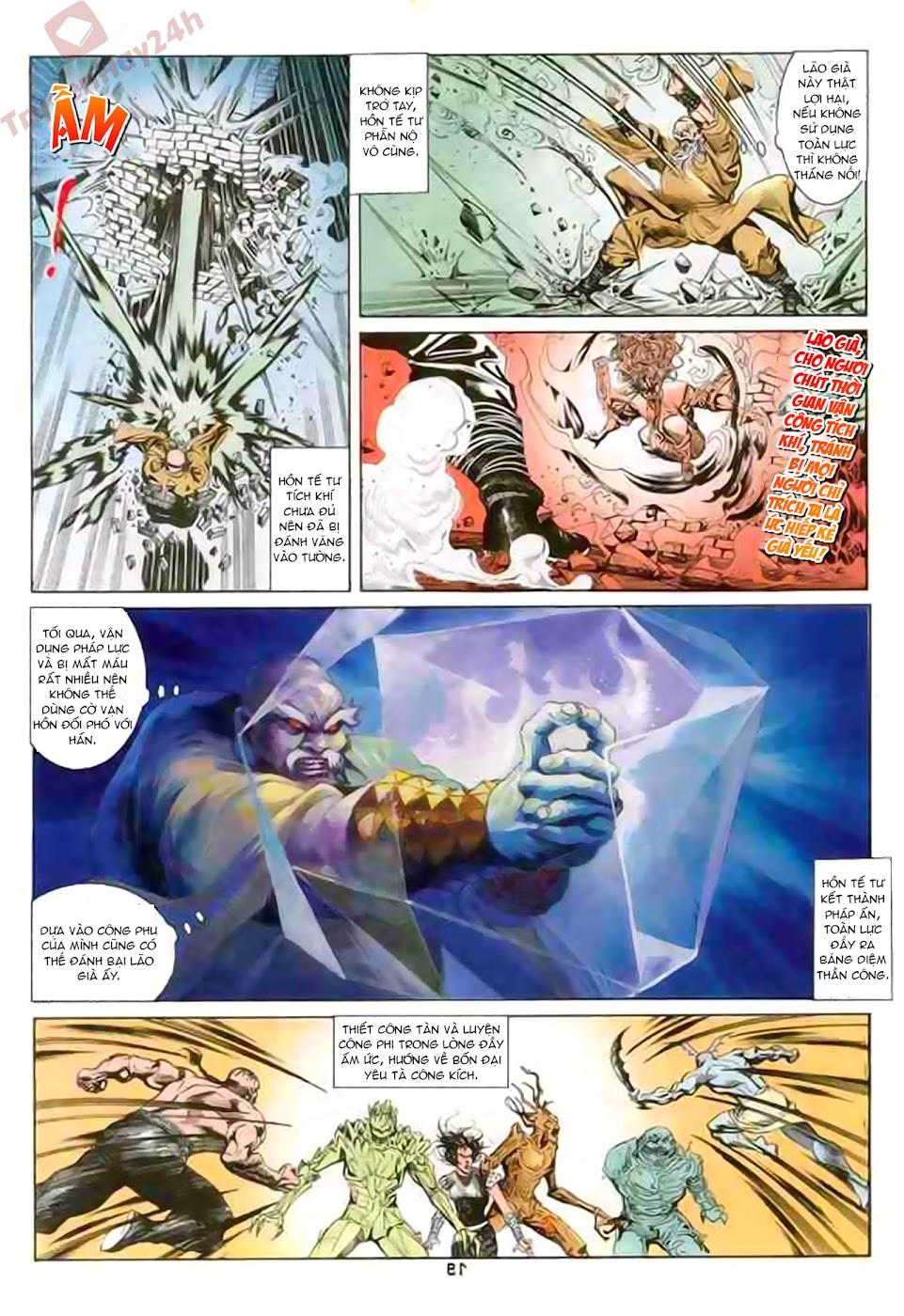Cơ Phát Khai Chu Bản chapter 86 trang 20