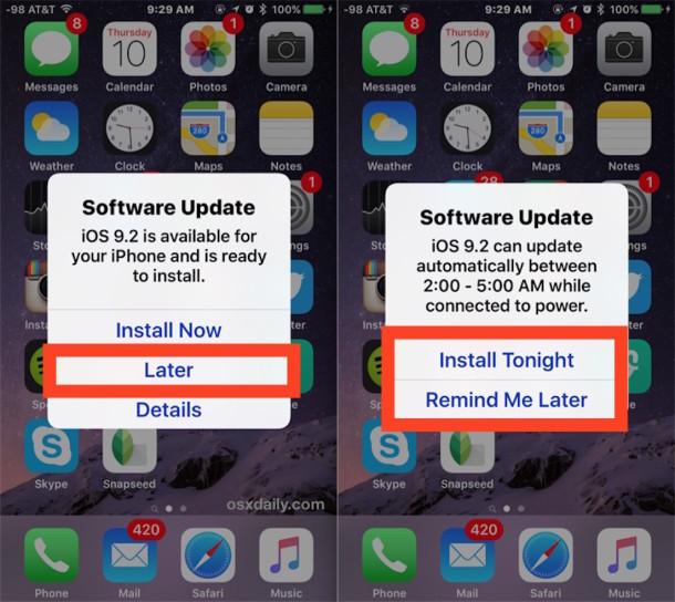 Cập nhật iOS 9.2 - có nên mua iPhone cũ hay không