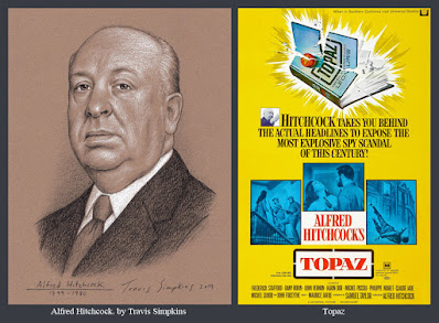 Alfred Hitchcock. The Master of Suspense. Film Director. Topaz. by Travis Simpkins