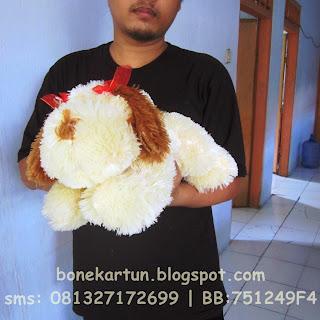 boneka anjing lucu bagus toko jual beli online harga murah cari kado ultah anak anniversary teman pacar saudara terbaru  terlaris 2015
