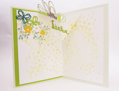 Pop Up Karte mit Maskentechnik- Bäumen Stampin' Up! www.eris-kreativwerkstatt.blogspot.de