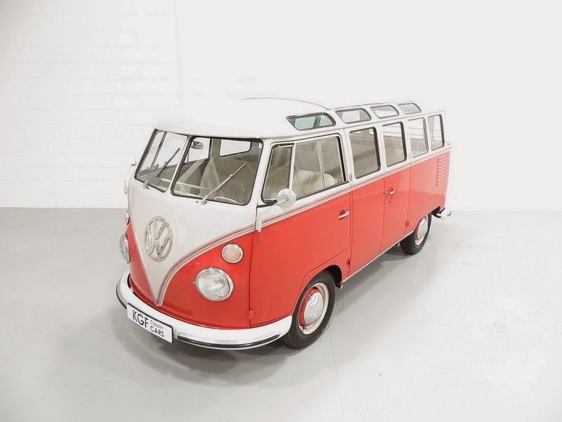 1962 Vw Samba Deluxe Microbus Vw Bus