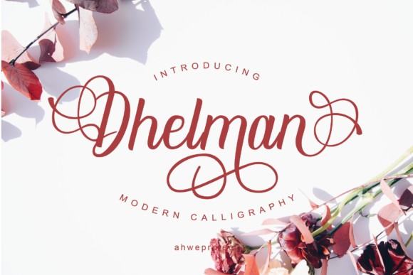 Dhelman Script Font