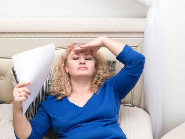 Improves symptoms of menopause