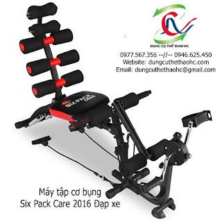 Máy tập cơ bụng Six Pack Care 2016 Đạp xe