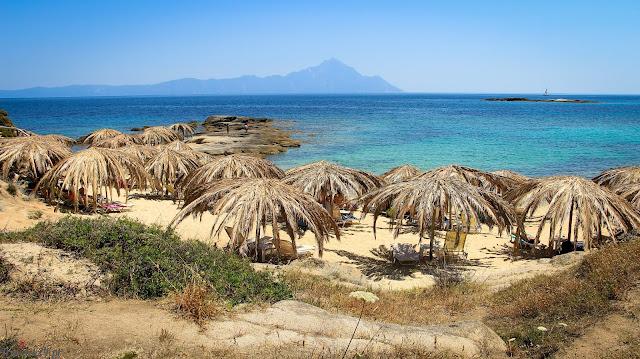 Chalkidiki plaże