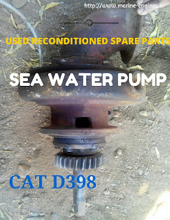 used, spare parts, ship, marine, boat, sea water pump, caterpillar D398