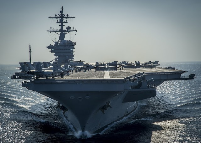 REGIME: US rattles sabre at Iran with carrier group deployment