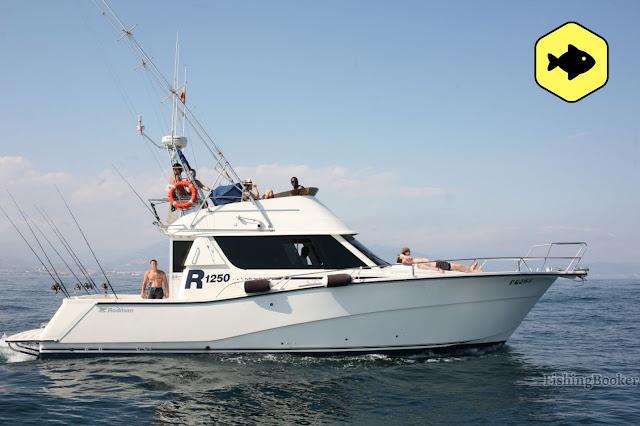 Hochseeangelboot Spanien mieten