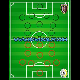 Prediksi Susunan Pemain Bali United VS PSS Sleman