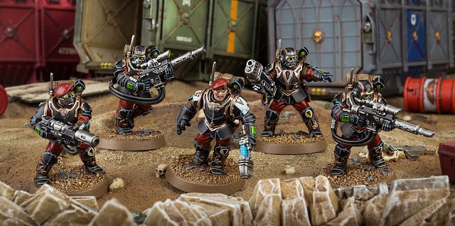 Kill Team Tempestus Scions