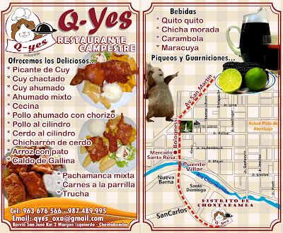 El mejor restaurante en Oxapampa, comidas campestres.