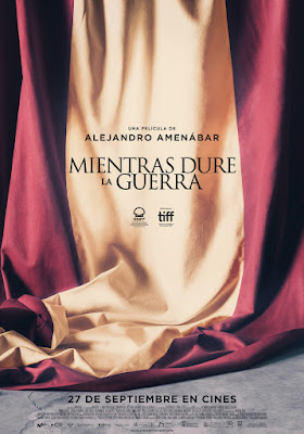 MIENTRAS DURE LA GUERRA - Poster de la película de Amenabar