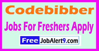 Codebibber Recruitment 2017 Jobs For Freshers Apply