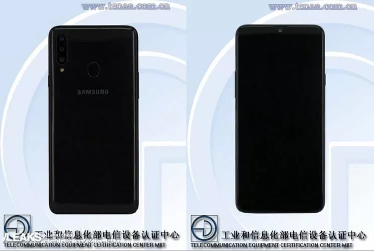 Samsung Galaxy A20s Spotted on TENAA