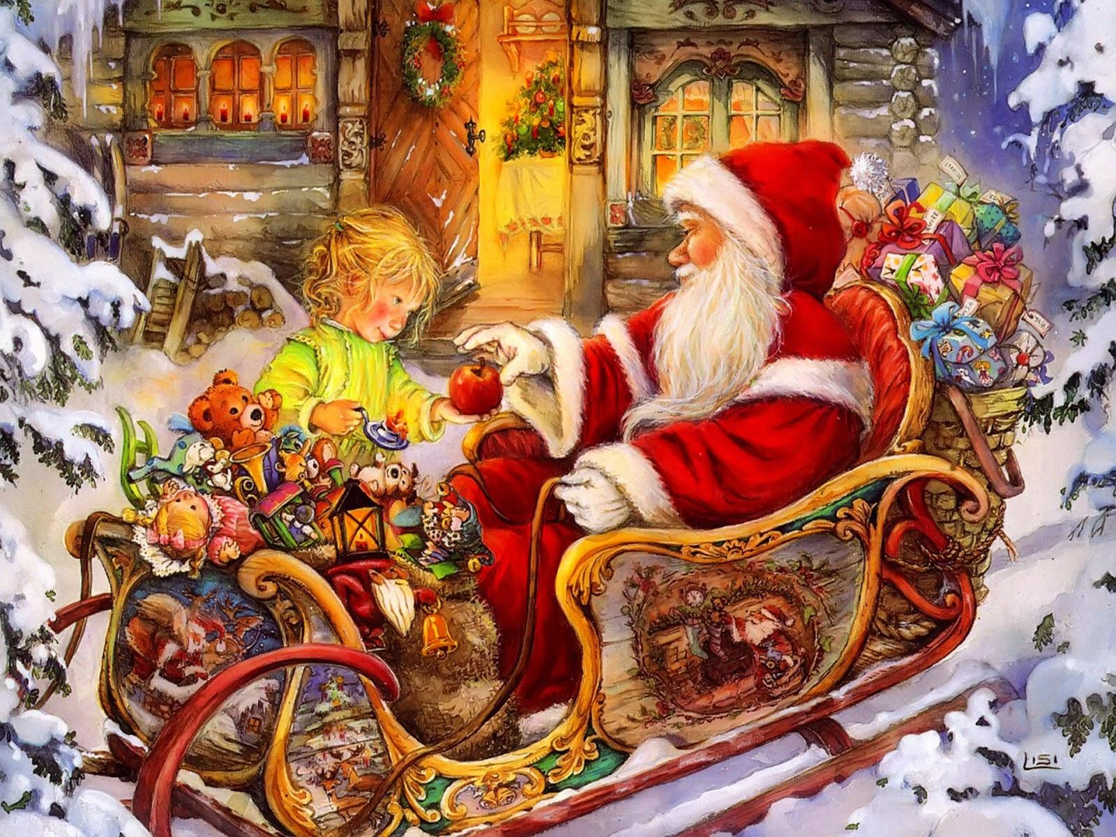 Babbo Natale Questanno Verra Filastrocca.L Albero Di Natale Filastrocche Di Natale