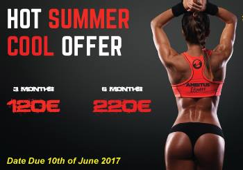 SUMMER OFFER IN AMBITUS GYM