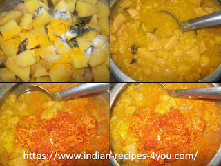 pumpkin erissery recipe in kerala style in hindi by aju