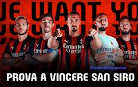 """MyMilan concorso """"Vinci San Siro"""" : gratis i biglietti per le partite del Milan"""