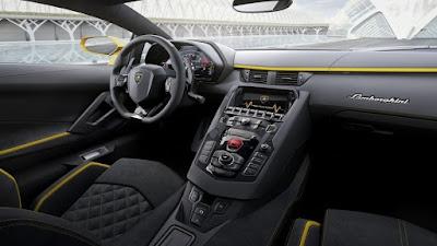 Lamborghini Aventador S intérieur