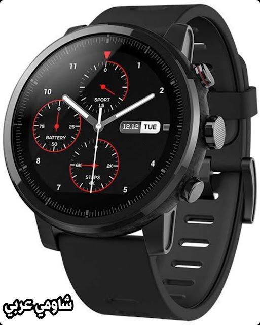 مراجعة وسعر ساعة شاومي  Xiaomi Amazfit Stratos Smartwatch