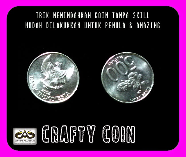 TOKO SULAP JOGJA CRAFTY COIN POWER MAGIC